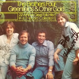 *SIGNED* The Brothers Four - 2 LP set